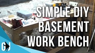 #172: Simple Diy Workbench With 2x4 Lumber - Diy Wednesday