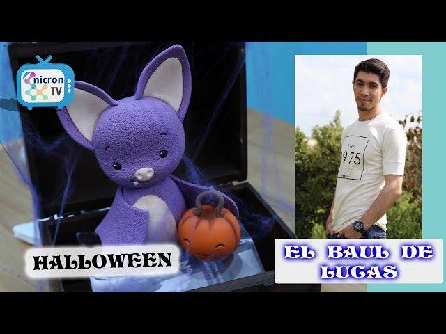 El Baúl de Lucas NICRON TV - Como hacer murciélago Halloween