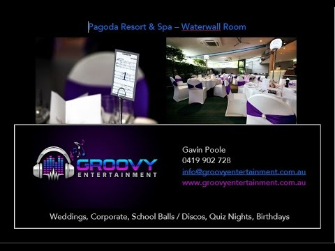 Wedding DJ Perth - Groovy Entertainment @ Pagoda Resort & Spa
