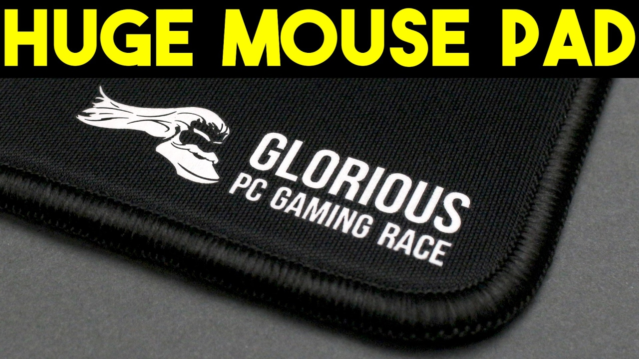 f7335991f82 BIGGEST GAMING MOUSE PAD EVER! Glorious 3XL Extended Gaming Mouse ...