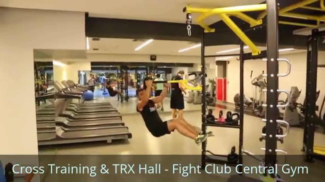 2dbdd3e7593 Cross Training   TRX System   Fight Club Central Gym - YouTube