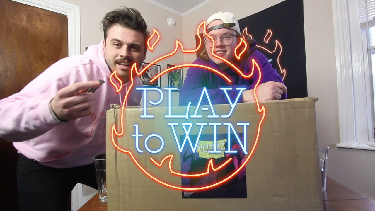 DRAGONSHIELD UNBOXING - PLAY TO WIN