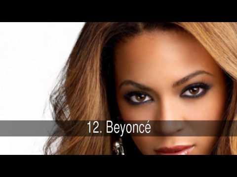 Las mejores cantantes pop en inglés