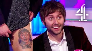 Inbetweeners Fan Shows James Buckley Her Tattoo & BTS Stories | The Inbetweeners: Fwends Reunited