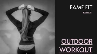 FAME Fit - outdoor workout 2