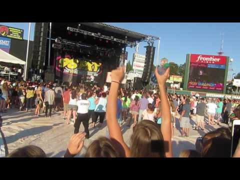 Shaggy at 98pxy Summer jam 2016 Rochester NY