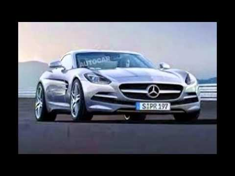 Mercedes benz sports car youtube for Sports car mercedes benz