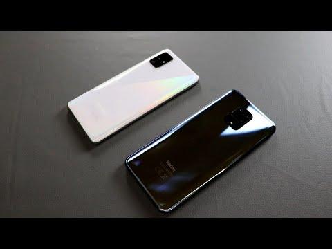 Redmi Note 9s VA Samsung A51, Tezlik, Foto va Audio test| Katta Jang!!! | O'zbek tilida