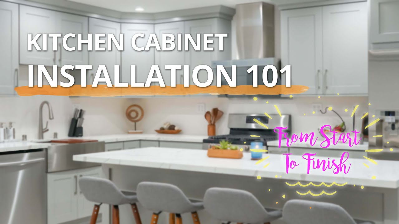 Cabinet Installation 101 How To