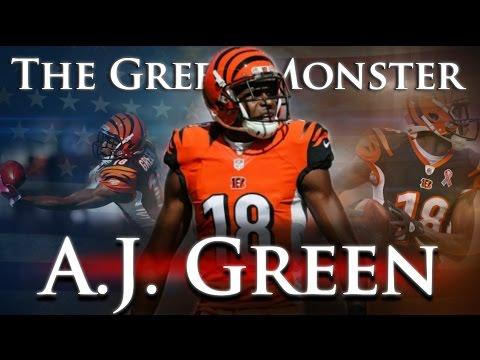 A.J. Green - The Green Monster