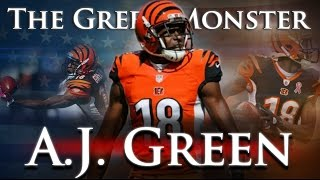 A.J. Green - The Green Monster