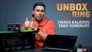 TIKROS KALĖDOS TAVO SŪNĖNUI!!!   Unbox Ring apžvalga