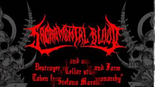 Sacramental Blood - Destroyer of Thought and Form