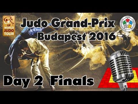 Judo Grand-Prix Budapest 2016: Day 2 - Final Block