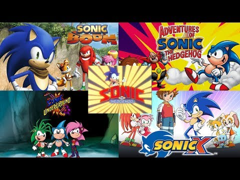 Sonic the Hedgehog ALL INTROS 1993  2017