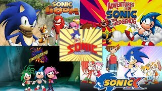 Sonic the Hedgehog ALL INTROS (1993 - 2017)