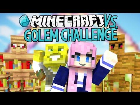 Golem Challenge | Modded Minecraft VS.