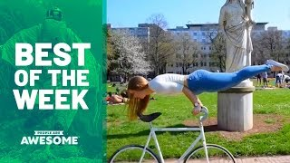 Cyr Wheels, Hula Hoop Tricks & Cardistry | Best of the Week Video