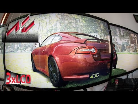 Assetto Corsa   *NEW* Jaguar XKR-S at Transfogarian route   Legal driving   DOWNLOAD LINK
