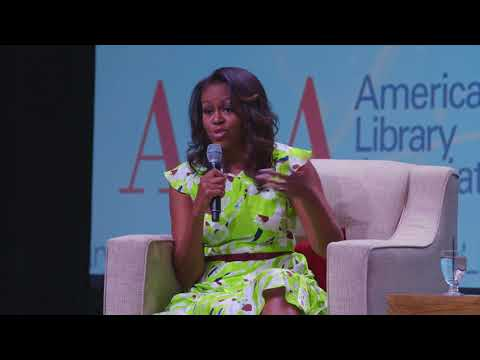 ALA Annual 2018 – Michelle Obama on Her Story and Her Book, Becoming