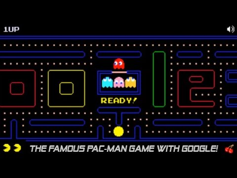 Play Pac Man Game With Google Doodle Hd Youtube
