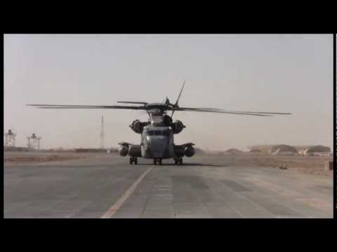 US Marine Heavy Lift Helicopters in Afghanistan