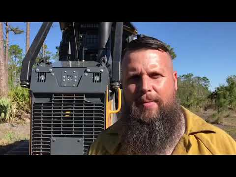 Forest Rangers As Bulldozer Operators Fight Wildfires Head On, Sometimes Alone Deep In The Woods