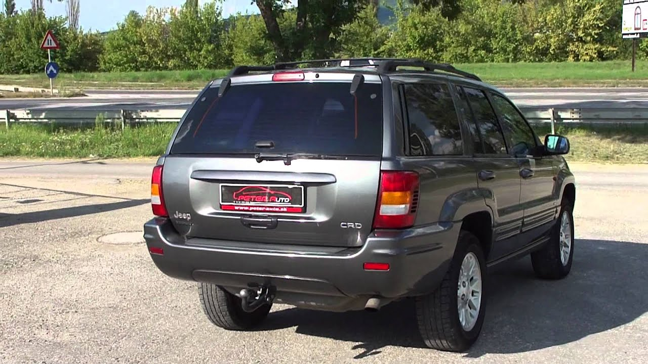 jeep grand cherokee 2 7 crd laredo youtube. Black Bedroom Furniture Sets. Home Design Ideas