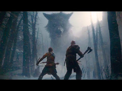 GOD OF WAR 4 All Cutscenes Movie 60FPS (PS4 PRO)