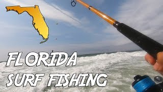 Fish EVERYWHERE! Pompano Fishing Pensacola Beach Florida | Spring King Pompano Tournament
