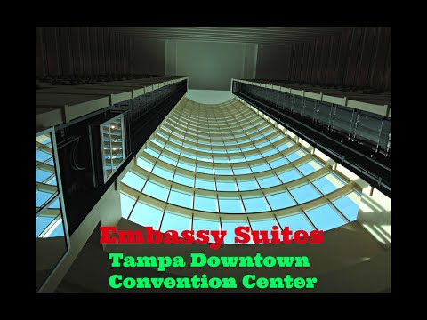 Kone Traction Glass Elevators - Embassy Suites Tampa-Downtown Convention Center - Tampa, FL