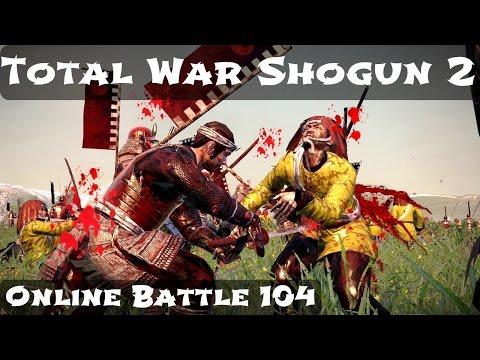 Total War Shogun 2 Online Battle Video 104  