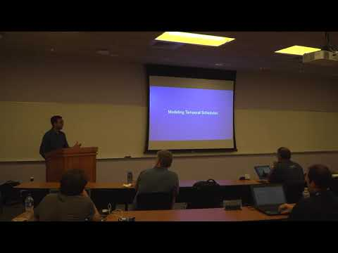 ICAPS 2019: Tutorial on Temporal Reasoning by Nikhil Bhargava, Brian Williams