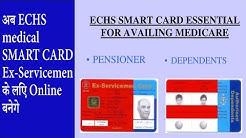 ECHS medical SMART CARD for Ex-Servicemen