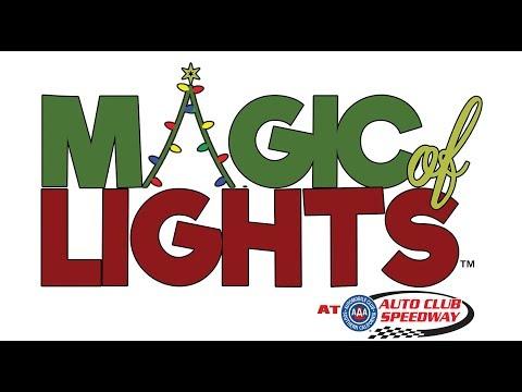 Magic of Lights Fontana Auto Club Speedway