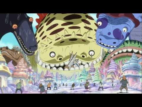 Shirahoshi invoca a Reyes Marinos HD One Piece arma ancestral poseidon haki