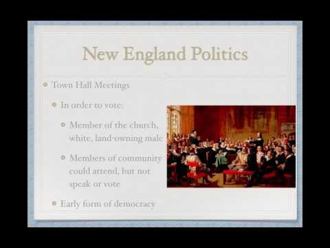 APUSH Review: The New England Colonies