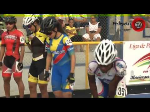 Inline Speed Skating racing in Colombia