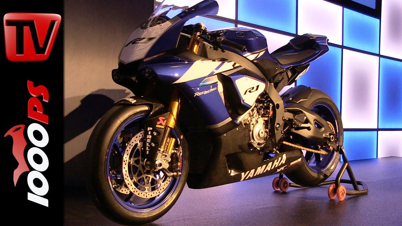 Yamaha YZF-R1 und YZ 2015 / Racingteam Bikes Präsentation