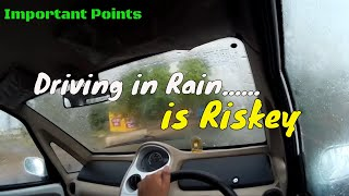 SAFE DRIVING TIPS FOR RAINY WEATHER || DESI DRIVING SCHOOL