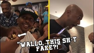 Gillie Da King's Cousin Gives Him A Fake Rolex For His Birthday!