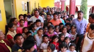 """Cruzada """"Que el pueblo hable"""" San Francisco Huehuetlán"""