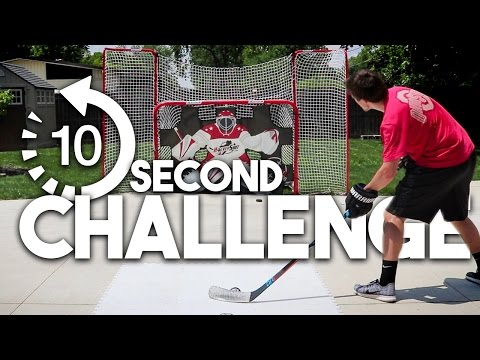 10 SECOND HOCKEY CHALLENGE!