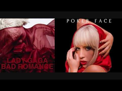 Lady GaGa  Bad Poker Romance Mashup