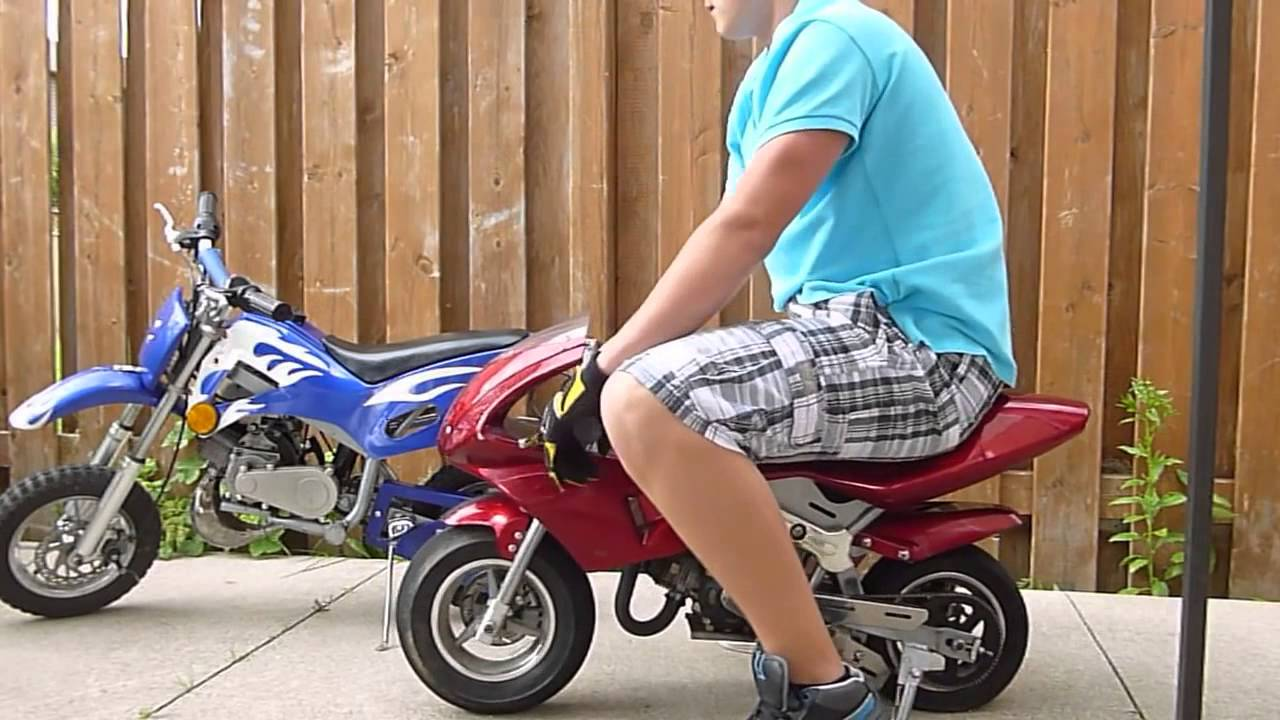 50cc 2 stroke pocket bike and mini dirt bike for sale youtube youtube