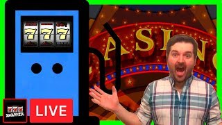 PLAYING EVERY SLOT IN THE CASINO! Late Night Live - Casino Slot Machine Live Stream W/ SDGuy1234