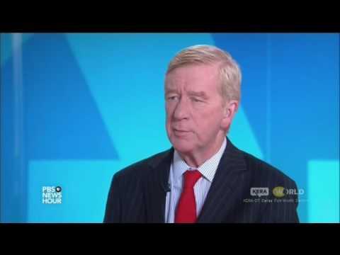 Libertarian VP candidate Bill Weld on PBS News Hour