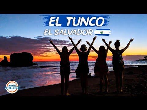 El Tunco Beach El Salvador | Surf & Fun In The Sun | 90+ Countries With 3 Kids.