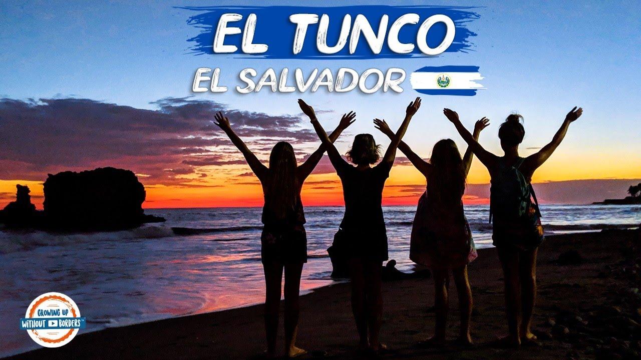 El Tunco Beach Salvador Surf Fun