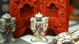Easy Metal Casting - Plastic to Pewter Sogmaster Figure + DIY Decals